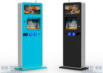 17'' 19'' Dual Screen Vending Kiosk For Bill Payment Kiosk With Thermal Printer