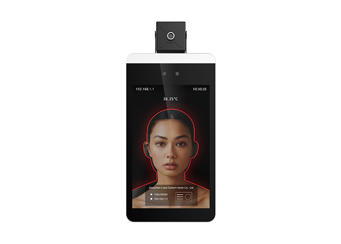 Wall Mounted Facial Recognition Display Infrared Temperature Measurement Device
