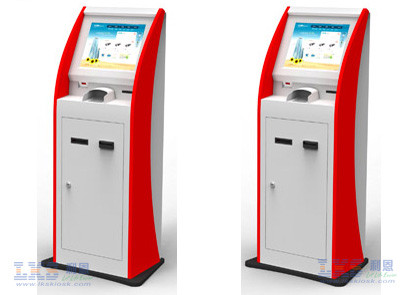 Infrared / SAW Touch Screen ATM Kiosk With Webcam Payment Terminal Cash Machine