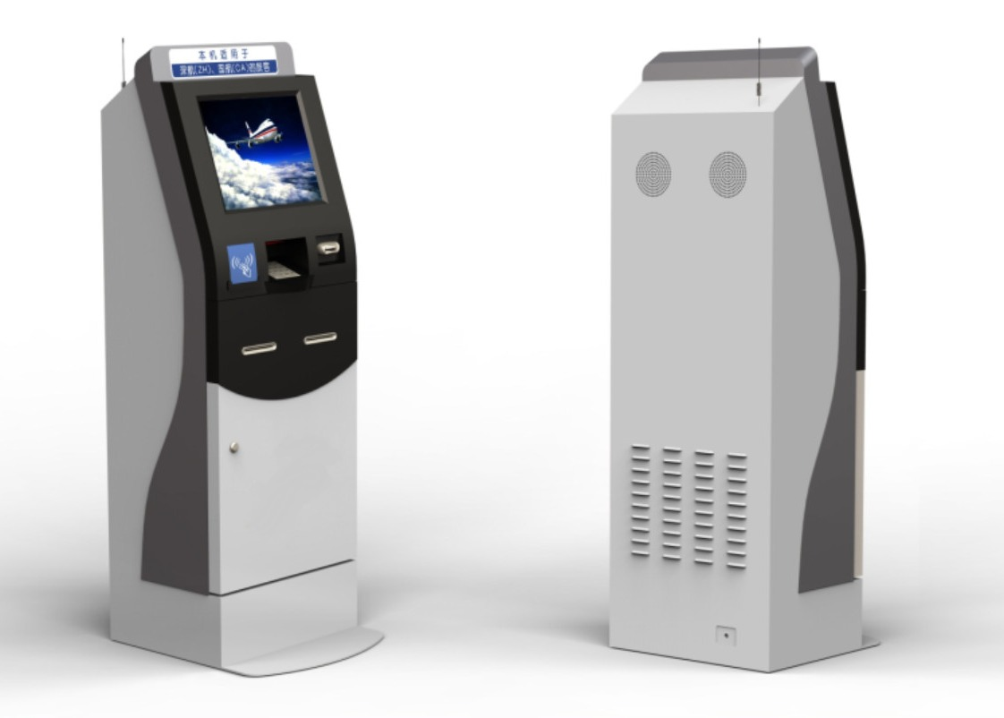 Intelligent Cash Payment Kiosk Charge Self  Services Windows 7/8/10 OS. ATM Machine
